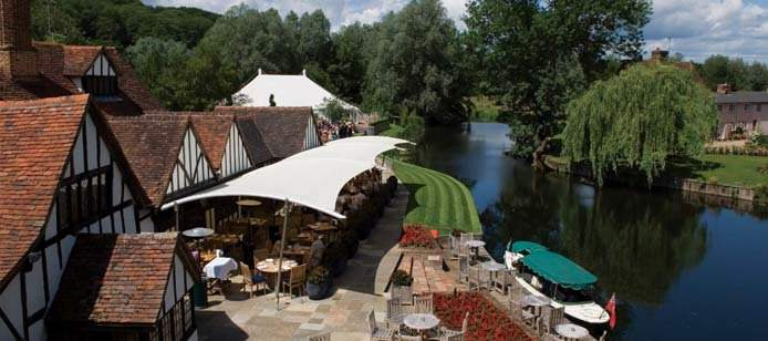 It's BBQ Time Again at Le Talbooth! – 2012