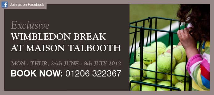 Centre Court comes to Maison with our Exclusive Wimbledon Break!