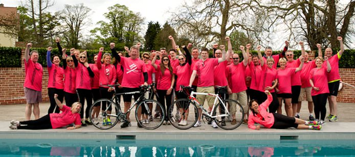 Milsom Hotels Charity Cycle Ride 2013