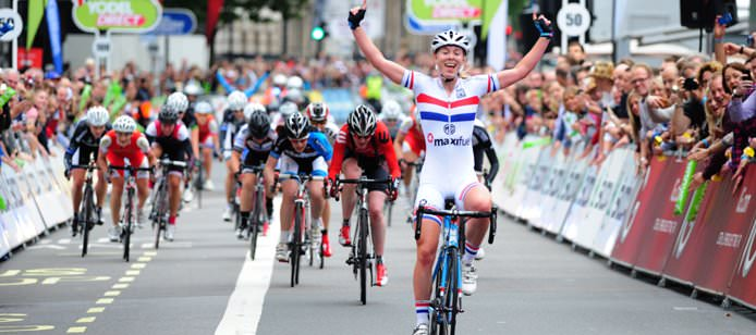 The Women's Cycling Tour 2014 in Suffolk