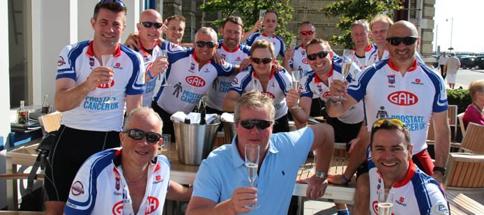 Charity Cycle in Aid of Prostate Cancer UK