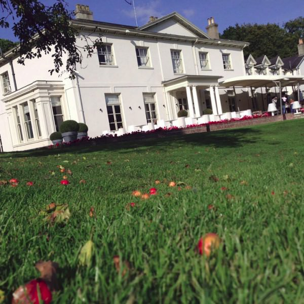 The beautiful Kesgrave Hall in Ipswich, Suffolk