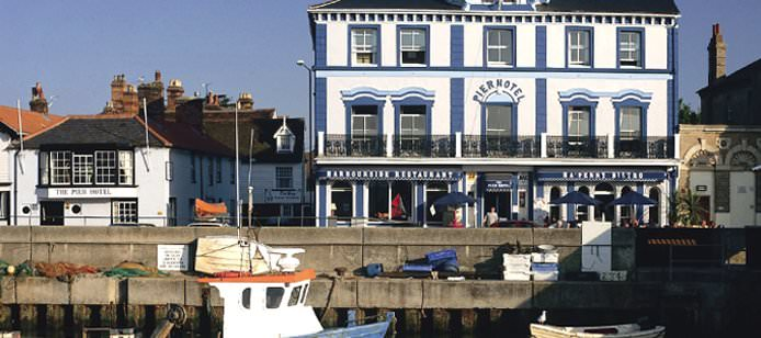 Named in Britain's Best Seaside Hotels by the Telegraph