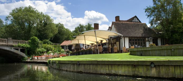 Vineyard Tasting and Dinner at Le Talbooth Restaurant, Dedham – Sunday 10th