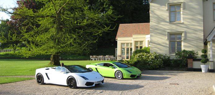 Lamborghini, Lamborghini –  hot off the production line!