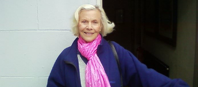 Honor Blackman at The Pier