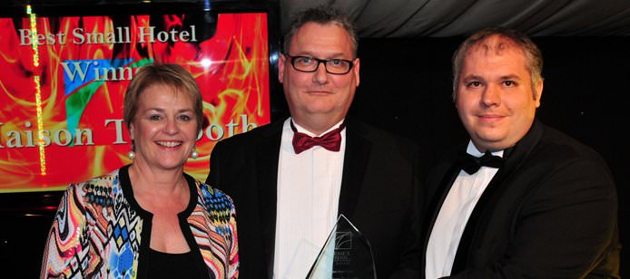 Congratulations! Maison Wins Essex Small Hotel of the Year Award!