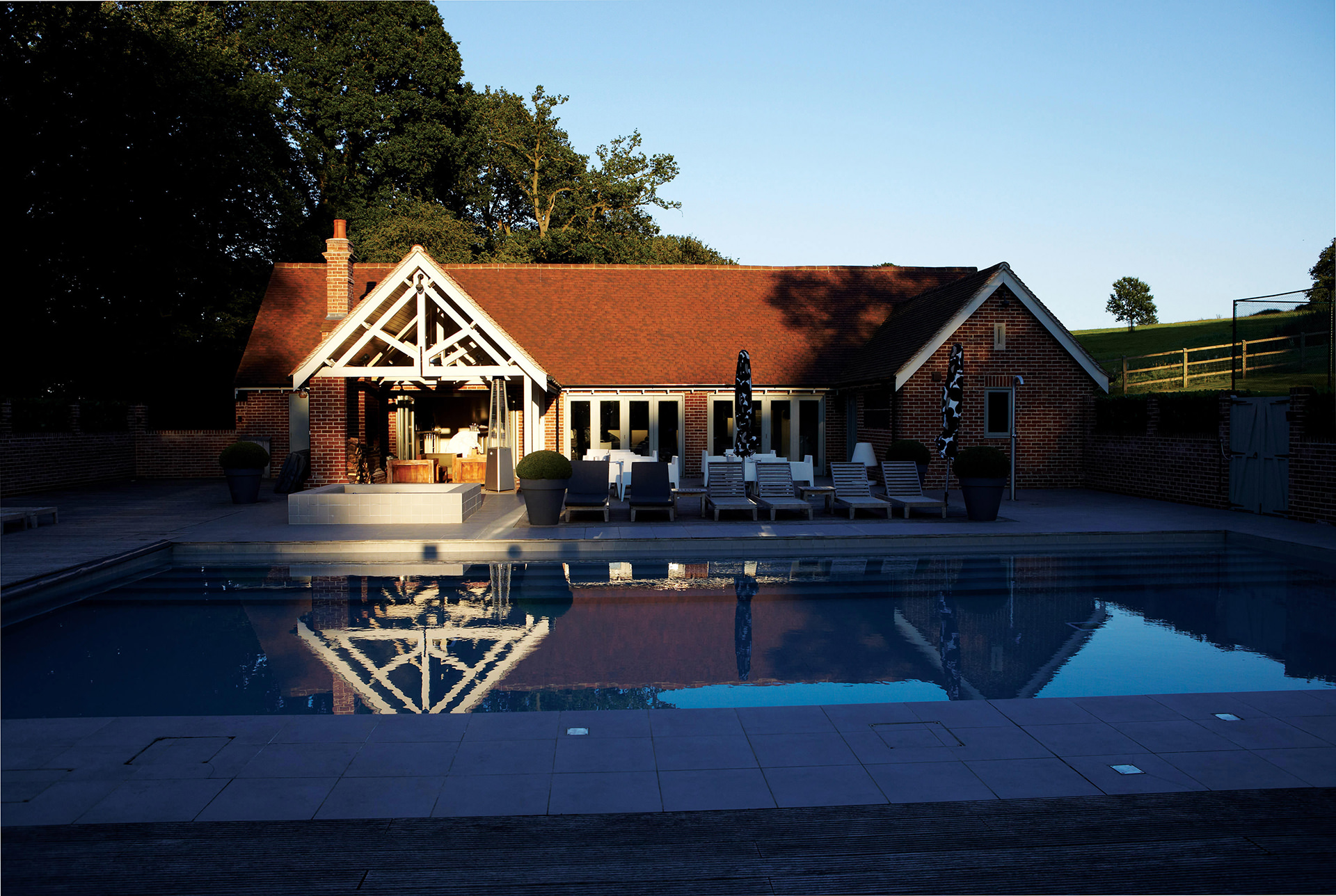 Maison Talbooth Pool House