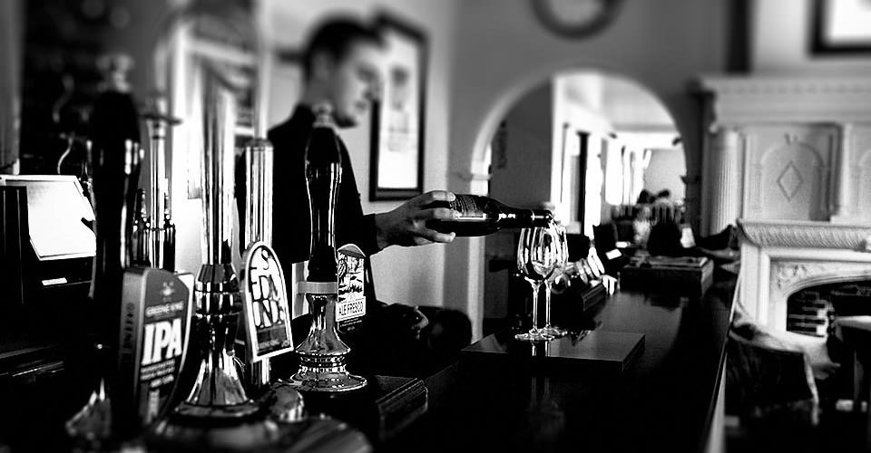 Bar at Kesgrave Hotel in Suffolk