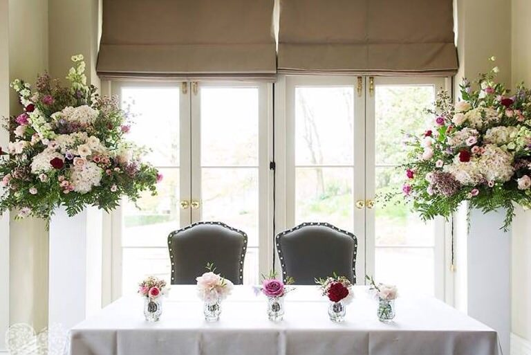 Wedding Ceremony at Maison Talbooth, Dedham