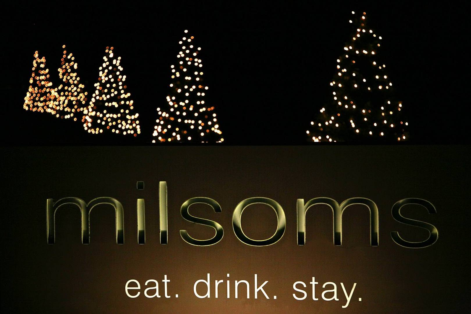 December at milsoms in Dedham
