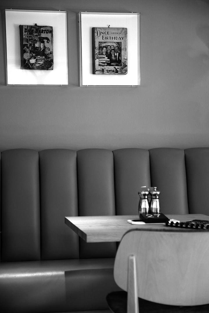Dine in the restaurant at Milsoms in Dedham