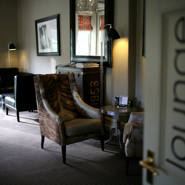 Relax in the lounge at Milsoms Kesgrave Hall