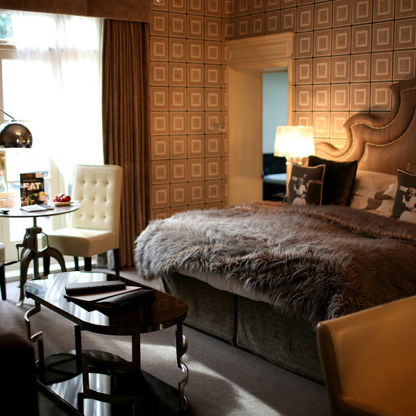 Inviting bedrooms and Maison Talbooth