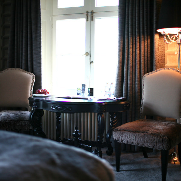 The fantastic Shelley room and Maison Talbooth