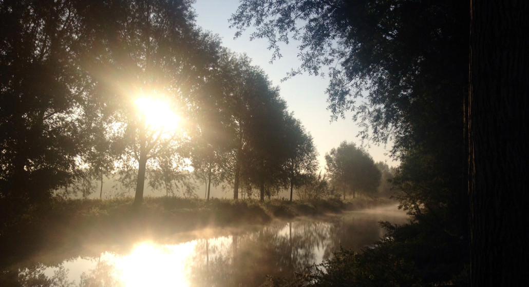 river Stour Autumn morning 2014