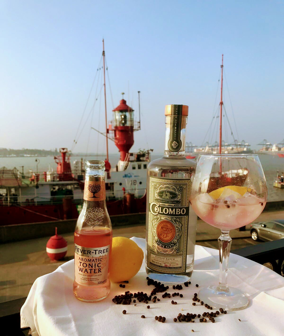 Gin Flights in the NAVYÄRD at The Pier at Harwich