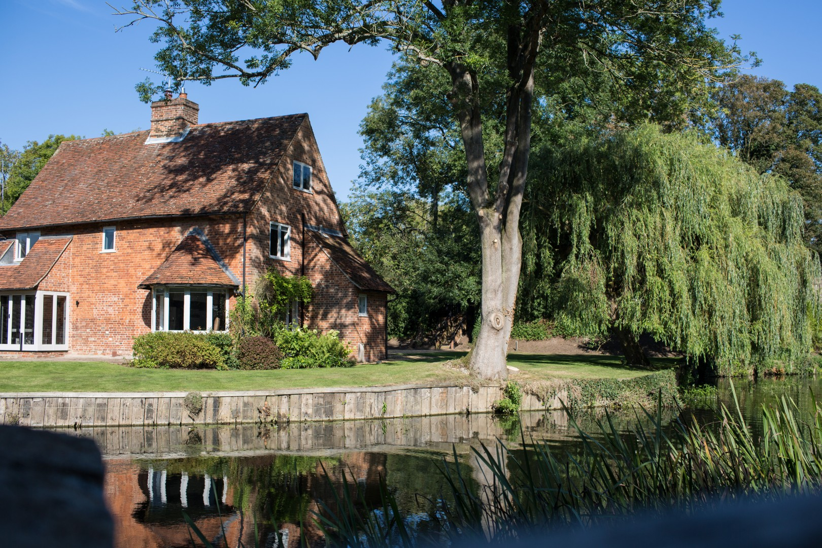 Idle Waters, our riverside cottage in Dedham