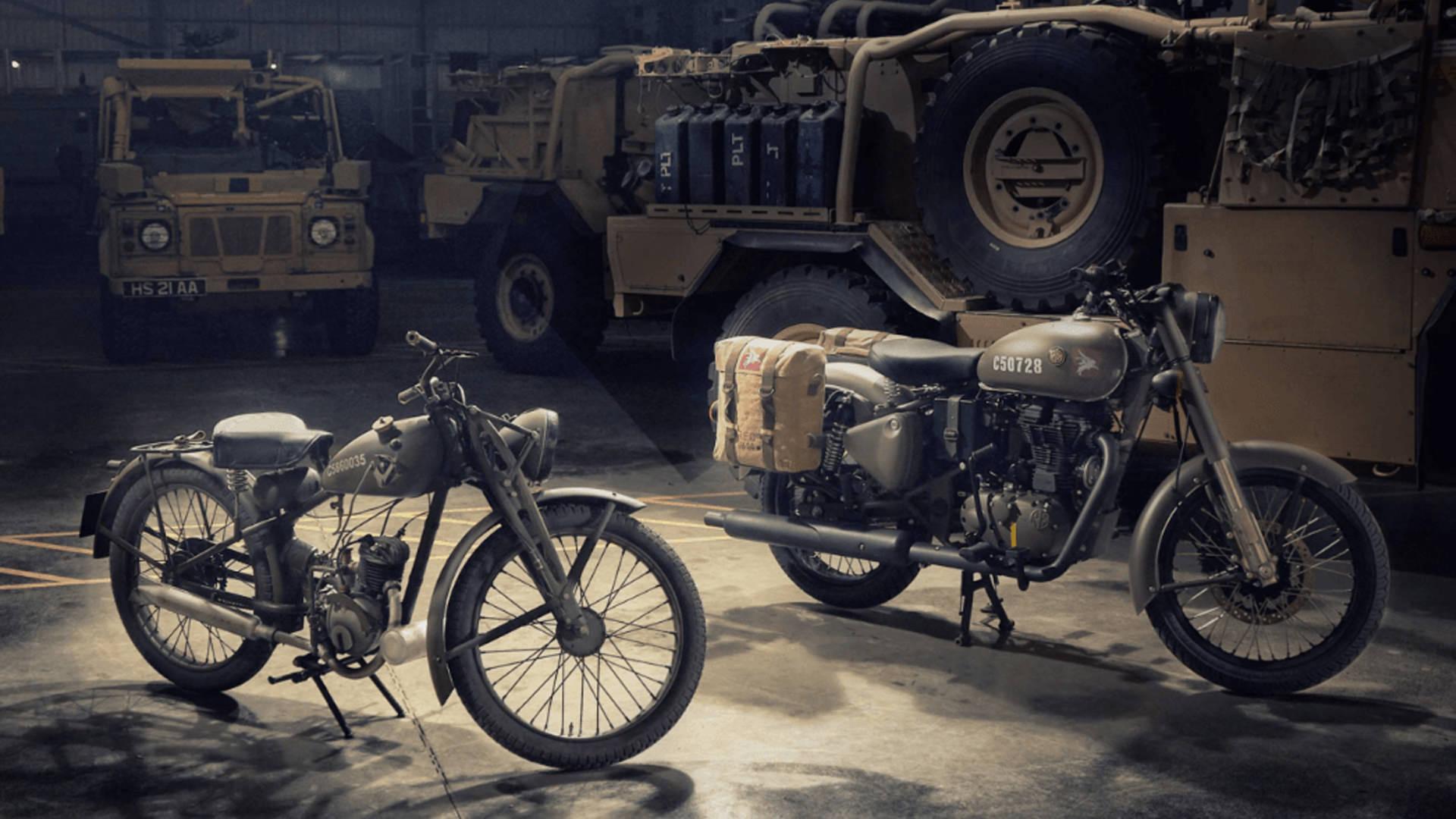 Royal Enfield Classic 500 Pegasus Motorbike Auction at Milsoms Kesgrave Hall