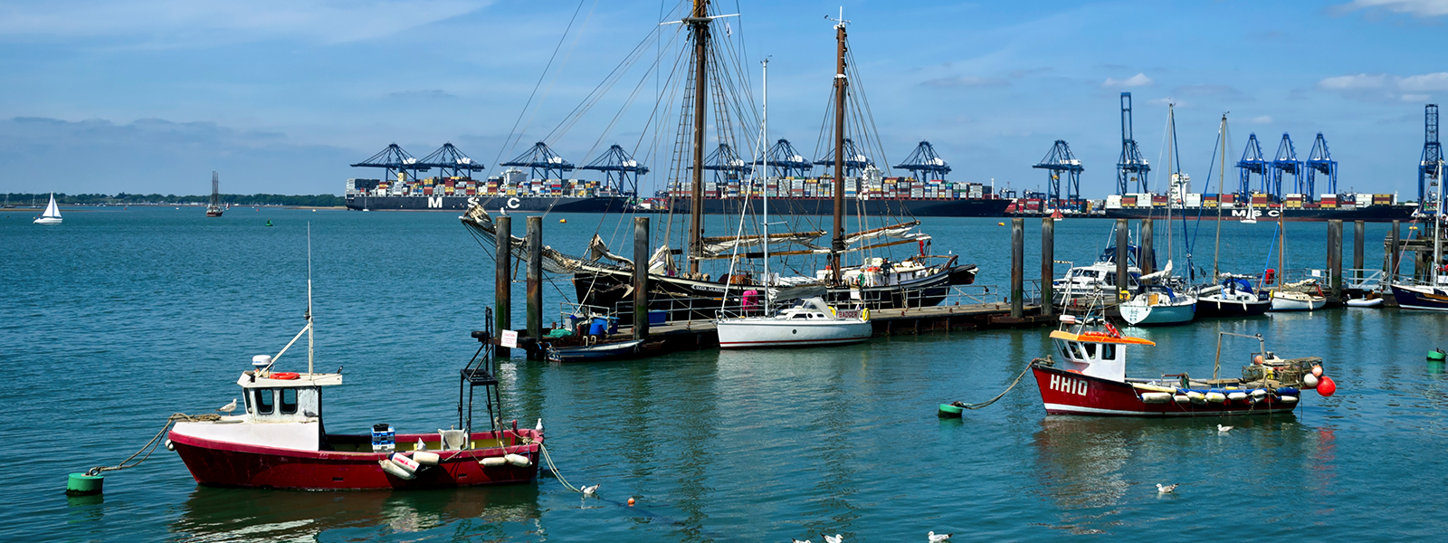 Things to do in Harwich: Ships, Submarines and Seals