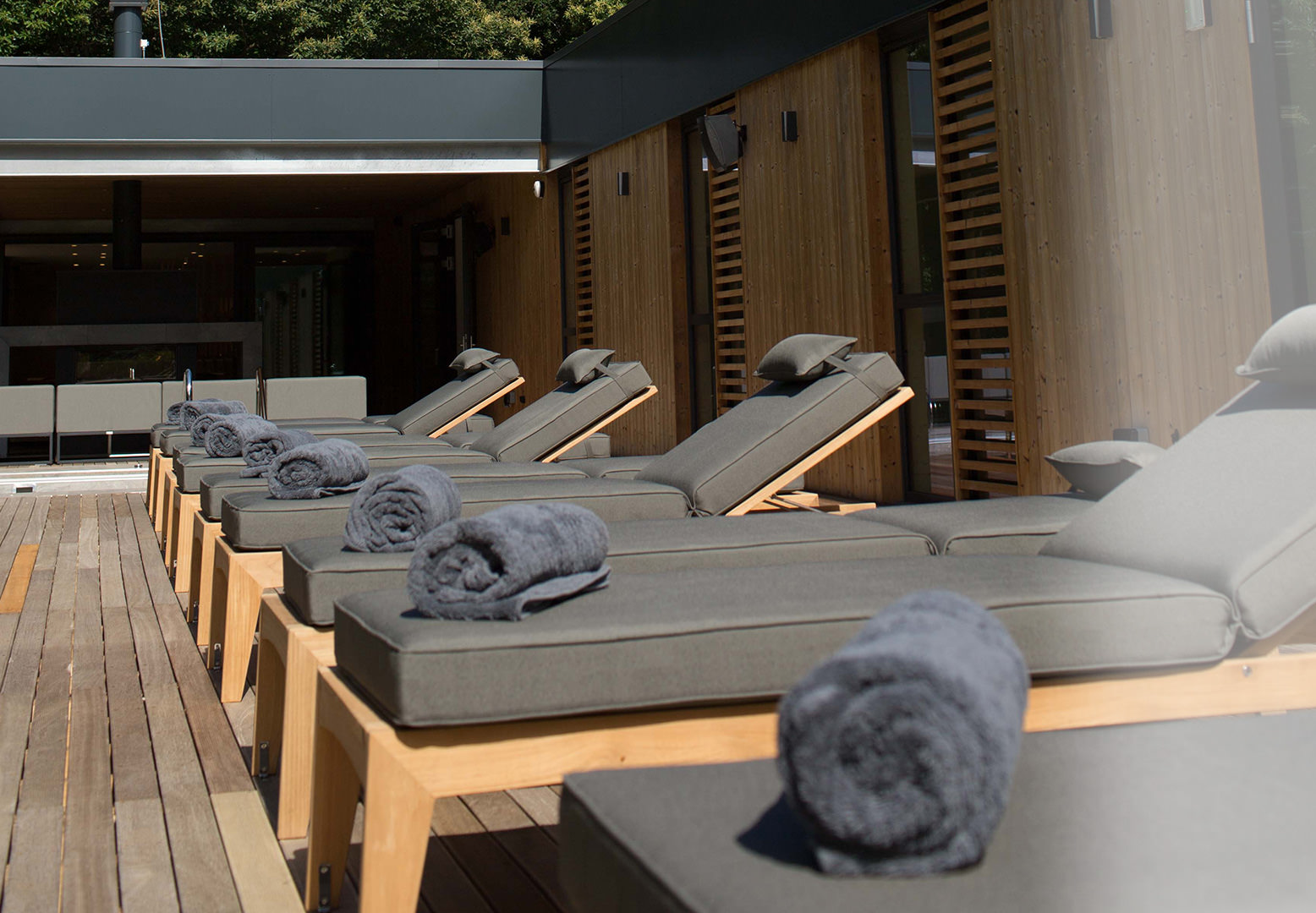 Spa Kesgrave Hall sunbeds