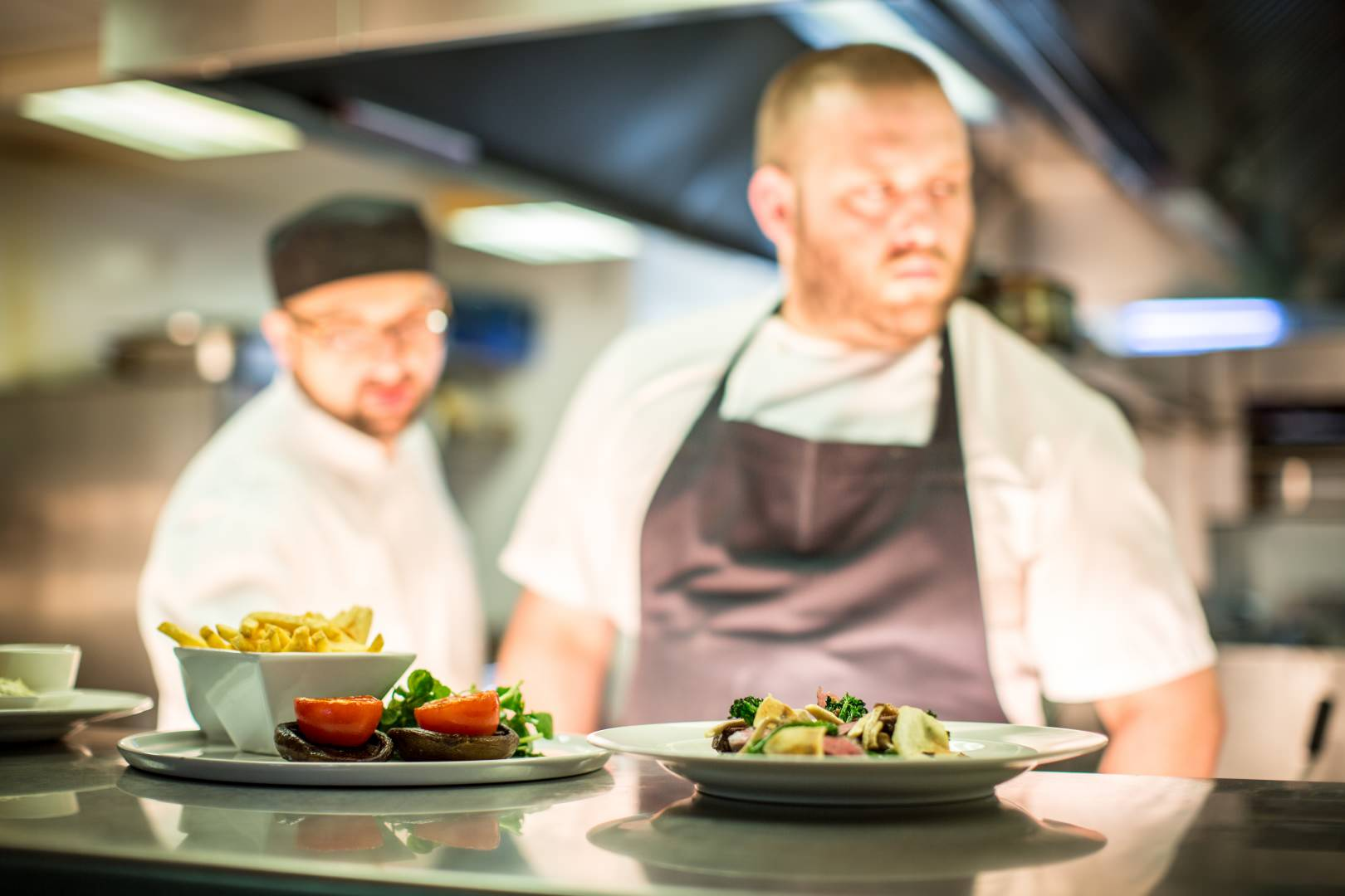 """The chefs are the most talented group we have ever come across"" – Kesgrave Hall"